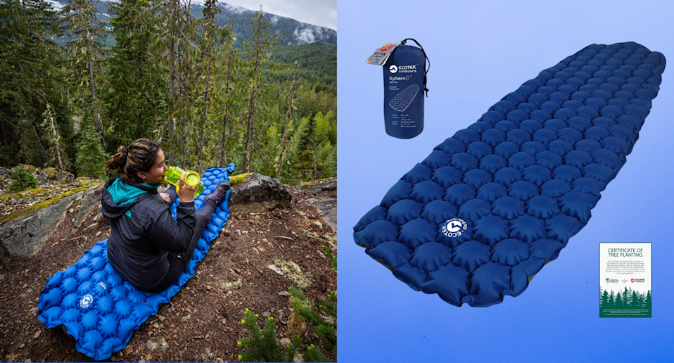 Tthis inflatable sleeping pad is a camper's dream come true (Photo via Amazon)