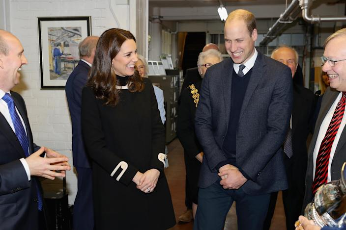While Prince William and the Duchess of Cambridge tend to be a bit more reserved, body language experts say there's still a deep sense of romance. <i>(Getty Images)</i>