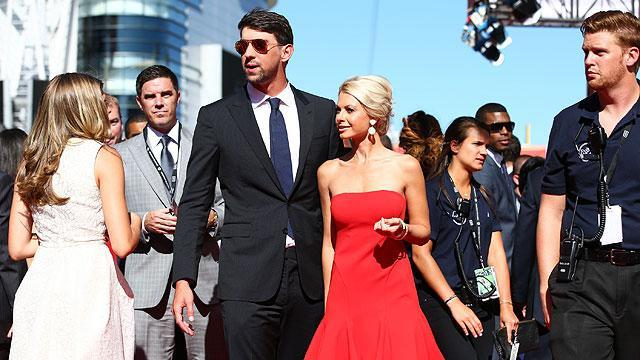 Michael Phelps steps out with Win McMurry at the ESPYs