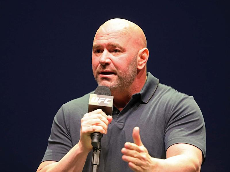 UFC president Dana White has been forced to cancel UFC 249 after pressure from owner's Disney and ESPN: AP