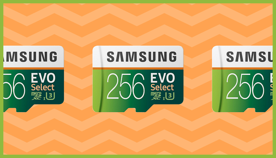 Save over 40 percent on Samsung memory cards. (Photo: Samsung)