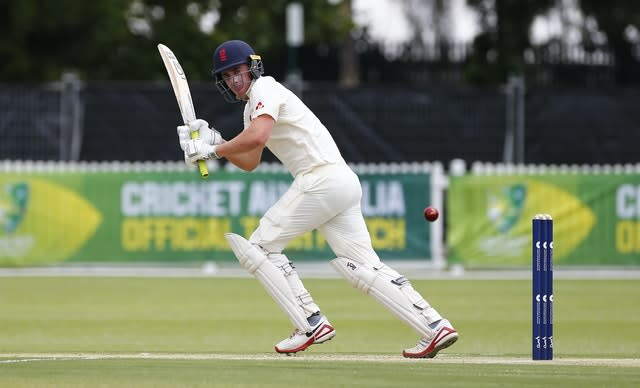 Essex's Dan Lawrence has a chance to pitch for Joe Root's spot at number four (Jason O'Brien/PA)