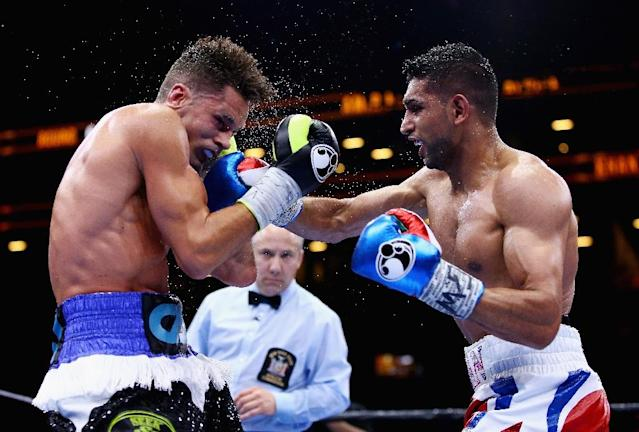 Amir Khan has defended his decision to fight in Saudi Arabia (AFP Photo/AL BELLO)
