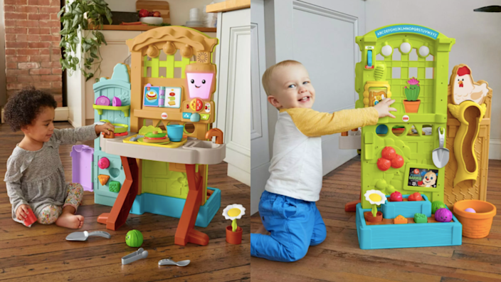Best gifts and toys for 2-year-olds: Fisher-Price Laugh & Learn Grow-the-Fun Garden to Kitchen