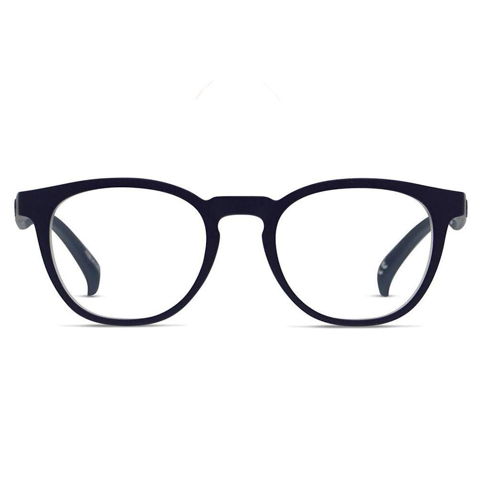 """<p><strong>Adidas</strong></p><p>glassesusa.com</p><p><strong>$71.00</strong></p><p><a href=""""https://go.redirectingat.com?id=74968X1596630&url=https%3A%2F%2Fwww.glassesusa.com%2Fblueclear-medium%2Fadidas-aor009%2F34-003751.html&sref=https%3A%2F%2Fwww.bestproducts.com%2Fmens-style%2Fg33594937%2Fstylish-glasses-frames-for-men%2F"""" rel=""""nofollow noopener"""" target=""""_blank"""" data-ylk=""""slk:Shop Now"""" class=""""link rapid-noclick-resp"""">Shop Now</a></p><p>These are the best frames for men who want a touch of glamour on their face without breaking the bank. Adidas crafted these frames from sturdy TR90 polymer that contours to your face to allow for a bit of flexibility and comfort.</p>"""