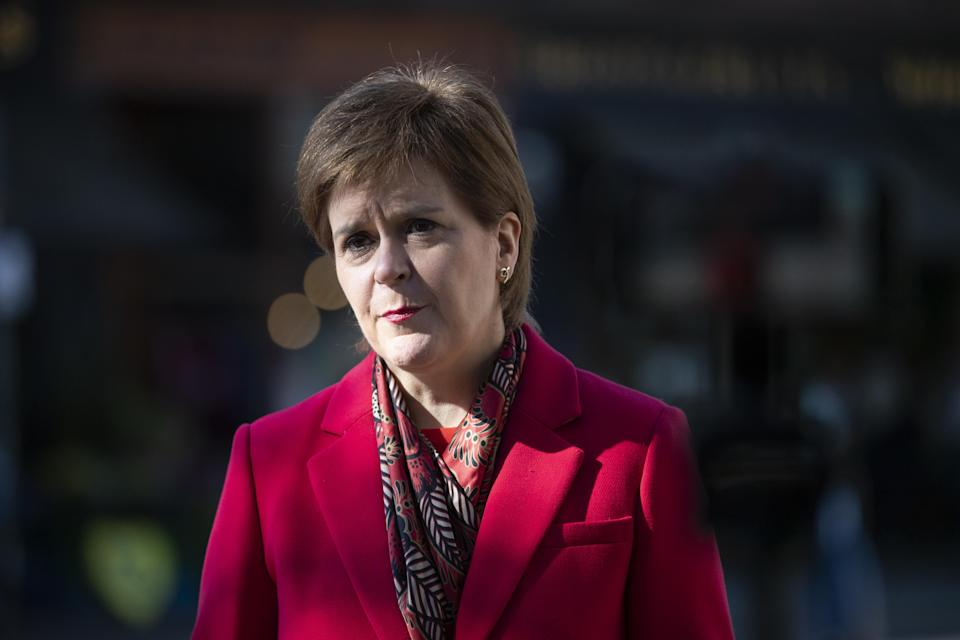 Nicola Sturgeon will say the NHS is at the 'heart' of SNP plans for the future (Jane Barlow/PA)