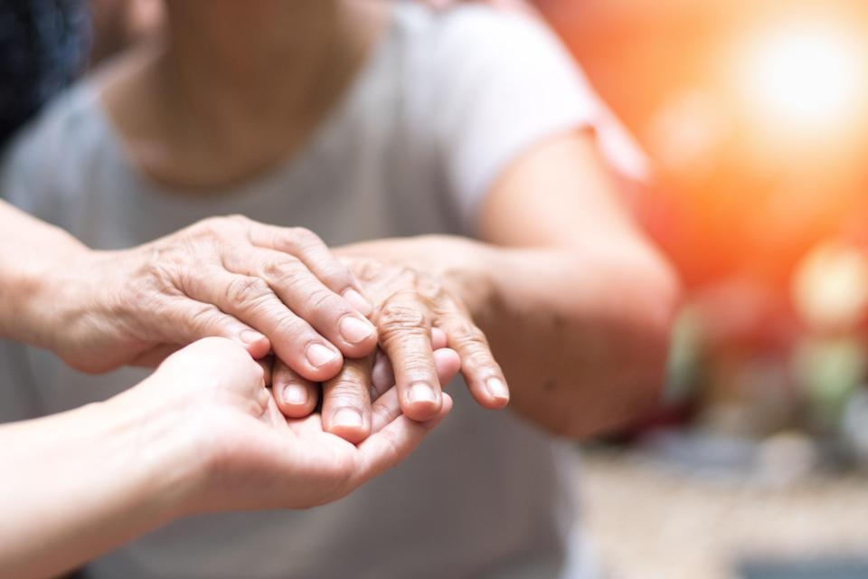 Parkinson's patients typically develop the disease's tell-tale tremors. (Getty Images)