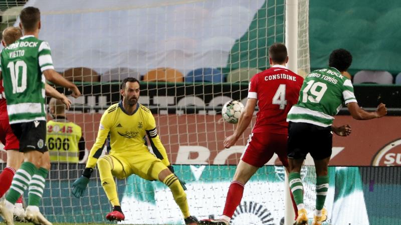 Aberdeen bow out of Europa League after Sporting defeat