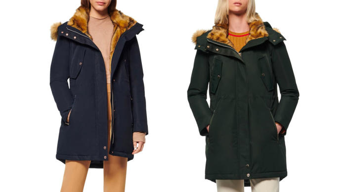 Andrew Marc Faux Fur Trimmed Anorak (Photo: Nordstrom Rack)