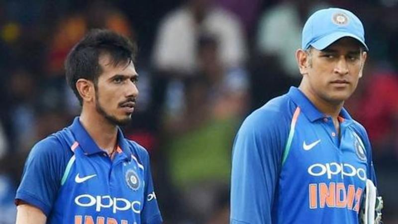 Yuzvendra Chahal speaks about MS Dhoni