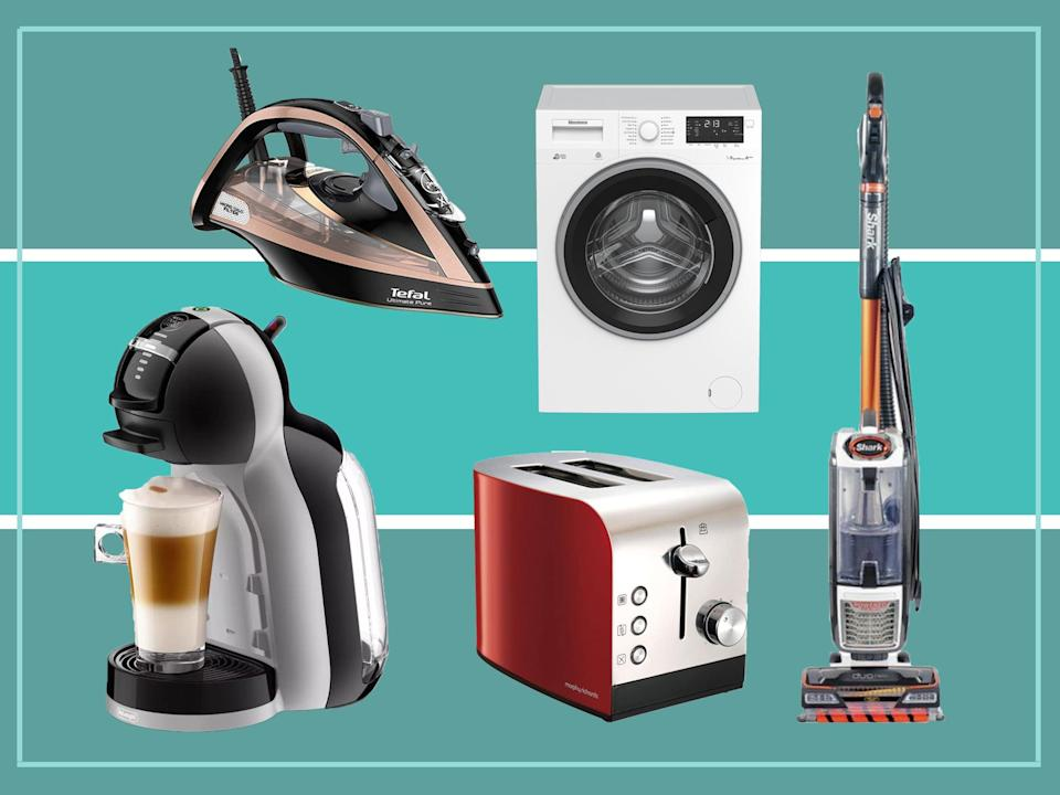 <p>With hundreds of pounds off big-name brands, now is the best time to invest in a new coffee machine or vacuum cleaner</p> (The Independent)
