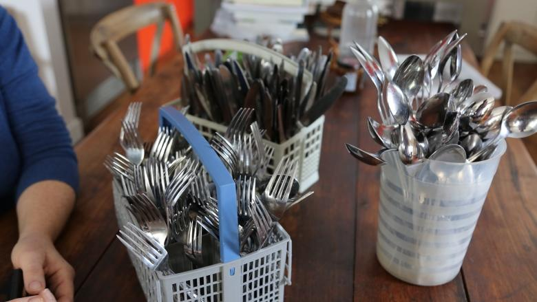 Free community cutlery collection aims to reduce use of plastic knives, forks and spoons