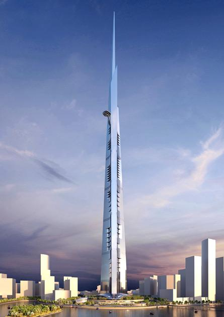 "Kingdom Holding's HRH Prince Alwaleed Bin Talal said that the 1,050m high skyscraper in the Red Sea port city would be finished ""in 63 months"".Burj Khalifa, the 2,717-ft high tower, will continue to hold the title for the tallest building in the world, at least, till 2017."