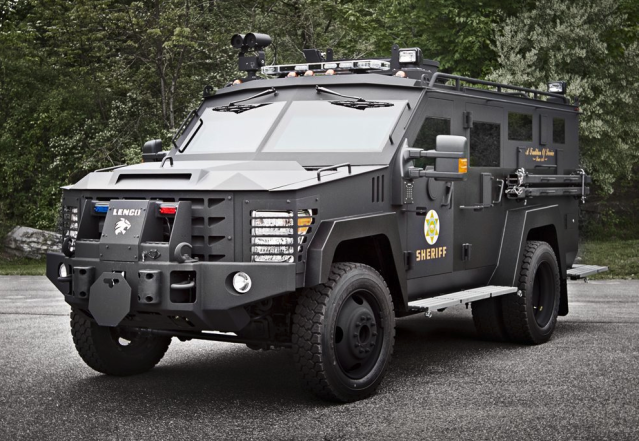 The Lenco BearCat G2, a controversial purchase for the Bloomington, Ind. police force. (Photo: Lenco)