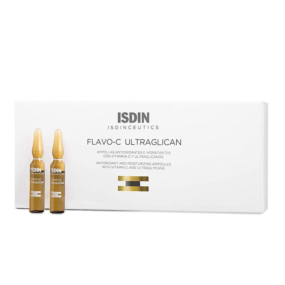 """<p><strong>ISDIN</strong></p><p>amazon.com</p><p><strong>$112.00</strong></p><p><a href=""""https://www.amazon.com/dp/B01BMLQ19Y?tag=syn-yahoo-20&ascsubtag=%5Bartid%7C2089.g.20966726%5Bsrc%7Cyahoo-us"""" rel=""""nofollow noopener"""" target=""""_blank"""" data-ylk=""""slk:Shop Now"""" class=""""link rapid-noclick-resp"""">Shop Now</a></p><p>If you want to give your skincare routine a more luxury feel, then it's time to introduce ampoules into your regimen — they are tiny portioned bottles of serums and oils for single-use. This vitamin C ampoule from ISDIN is one of our favorites for its highly potent formula.</p>"""