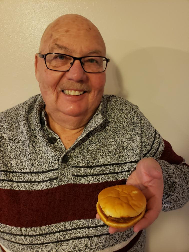 Dave Whipple of Utah says he might own the world's oldest hamburger, which he purchased from McDonald's in 1999. (Photo: Courtesy of Dave Whipple)