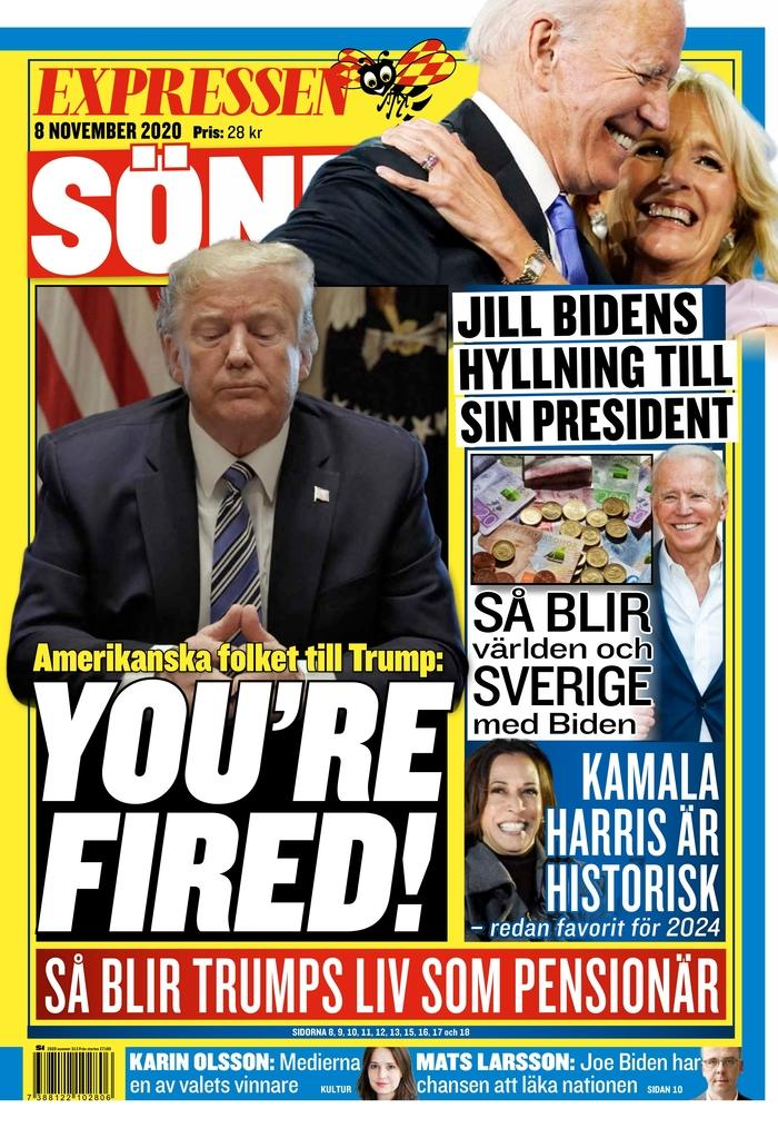 Expressen, Stockholm, Sweden. (Courtesy Newseum)