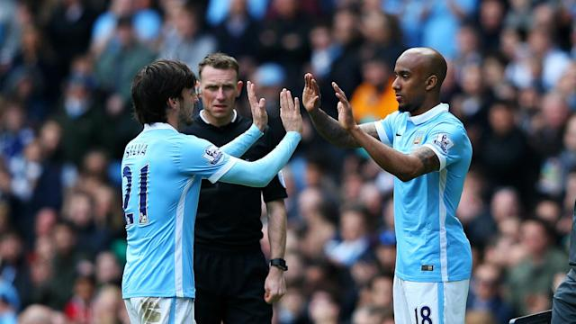 Fabian Delph credited David Silva for helping him through his injury woes after a first Premier League start of the season for Man City.