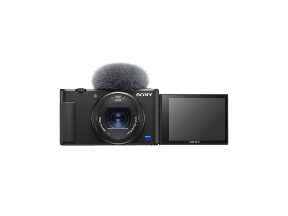 Sony's popular ZV1 vlogging cameraSony