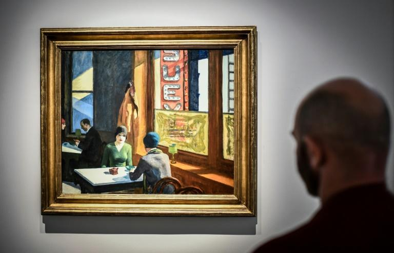"A painting by US artist Edward Hopper named ""Chop Suey"" is expected to be one of the headliners at the fall art auctions in New York"