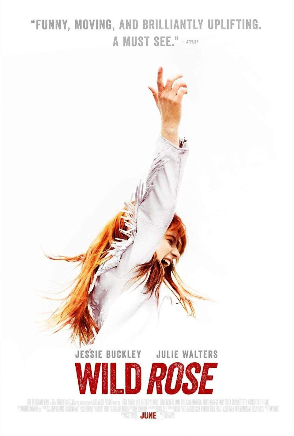 """<p>This under-the-radar British flick told the story of an aspiring Irish country singer trying to achieve her dreams after a stint in prison. It's a classic underdog story, but the music and Jessie Buckley's raw performance made it feel like something completely new. Blending both country classics by John Prine, Emmylou Harris, and Patty Griffin with original numbers like the poignant <a href=""""https://www.youtube.com/watch?v=E-l-Ly0ly4M"""" rel=""""nofollow noopener"""" target=""""_blank"""" data-ylk=""""slk:&quot;Glasgow (No Place Like Home),&quot;"""" class=""""link rapid-noclick-resp"""">""""Glasgow (No Place Like Home),""""</a> <em>Wild Rose </em>is one of the best movie musicals of the last decade.</p><p><a class=""""link rapid-noclick-resp"""" href=""""https://www.amazon.com/Wild-Rose-Jessie-Buckley/dp/B07SQF41QF?tag=syn-yahoo-20&ascsubtag=%5Bartid%7C10072.g.27734413%5Bsrc%7Cyahoo-us"""" rel=""""nofollow noopener"""" target=""""_blank"""" data-ylk=""""slk:WATCH NOW"""">WATCH NOW</a></p>"""
