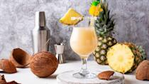 <p>One of the most popular tropical cocktails, this concoction of rum, pineapple, and coconut can be blended in just a few minutes. </p>