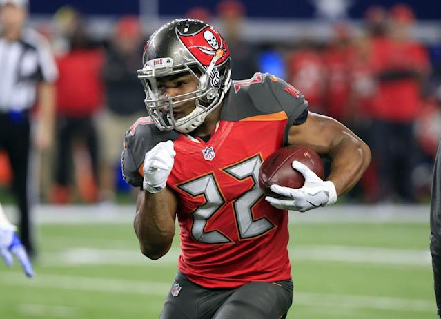Buccaneers running back Doug Martin is out of rehab and has proclaimed himself healthy and ready to go. (AP)
