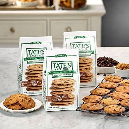 <p>Gluten free or not, these <span>Tate's Bake Shop Gluten Free Chocolate Chip Cookies</span> ($18 for 3) are a delicious treat, and this editor's personal favorite cookie.</p>