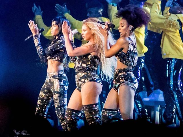 Beyonce performs with Destinys Child (AFP/Getty Images)