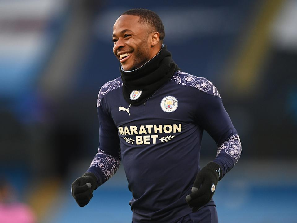 Manchester City forward Raheem Sterling (Getty Images)