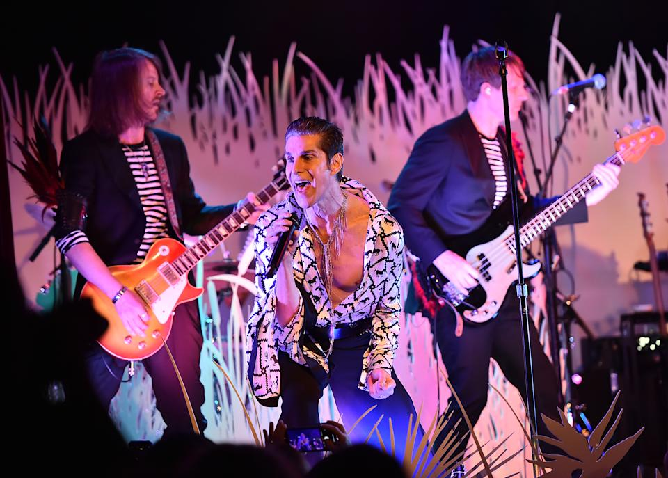 Perry Farrell performing with his Kind Heaven Orchestra in 2019. (Photo: Theo Wargo/Getty Images)