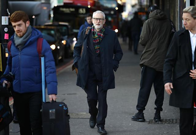 Labour leader Jeremy Corbyn's Brexit stance is popular with Remainers but less so with his party's Leavers. (PA Images)