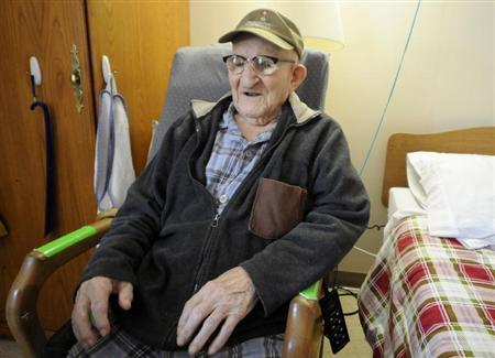 Sanchez, 112, the world's oldest man according to Guinness World Records, resides in a retirement home on Grand Island