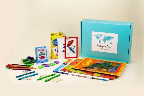 Starts at $40/month. Each box is packed with learning materials in Spanish and English, and includes 4 to 6 educational materials like books, lessons and activities. Get 1<span>5 percent off with code <strong>THANKS15</strong></span> at checkout.