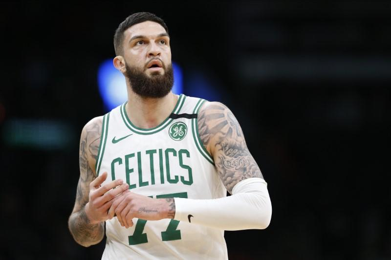 Celtics' Poirier joins Floyd protests with team mates