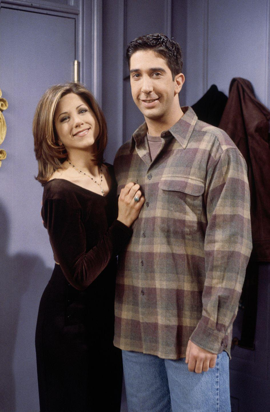 <p>Okay, whether or not you think Rachel and Ross (David Schwimmer) are the OTP, you have to admit they had that on-screen chemistry. The whole show is really just 236 episodes leading to their love story. It's honestly great.</p>