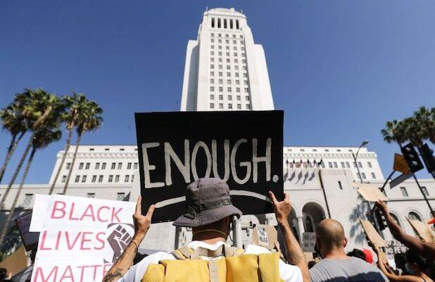 Los Angeles Residents Call on City to Defund the LAPD