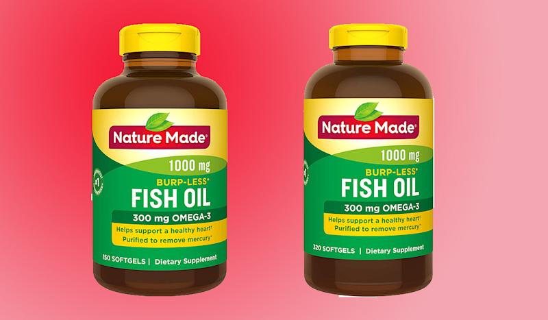 Introduce omega-3s into your diet without the fishy taste. (Photo: Amazon)