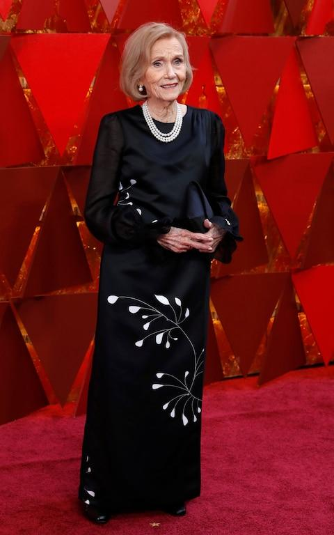 Eva Marie Saint ruling the red carpet at 93 - Credit: Reuters