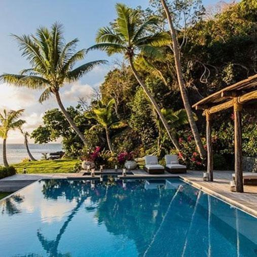 A stay in the most luxurious villa on the island will set you back $18,000. Photo: Instagram