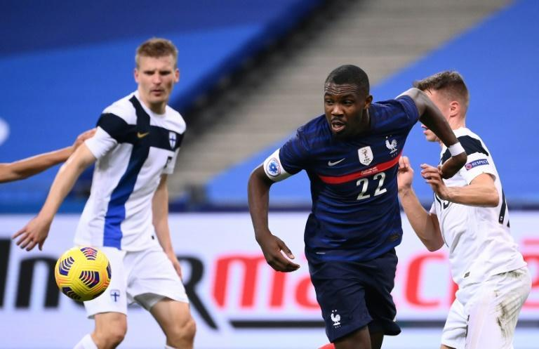Marcus Thuram impressed in his France debut despite a 2-0 defeat to Finland