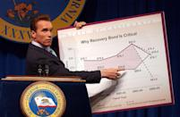 <p>From action star to politician. In 2003, Schwarzenegger was elected as Governor of California and served until 2011. </p>