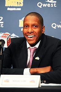 New Nuggets GM Masai Ujiri worked as a scout for the team from 2003-07