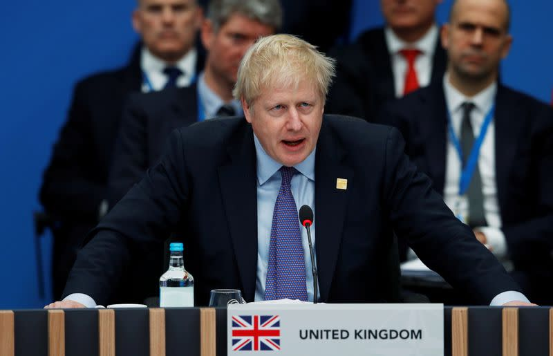 Iran protests are sign of real popular dissatisfaction: UK PM Johnson