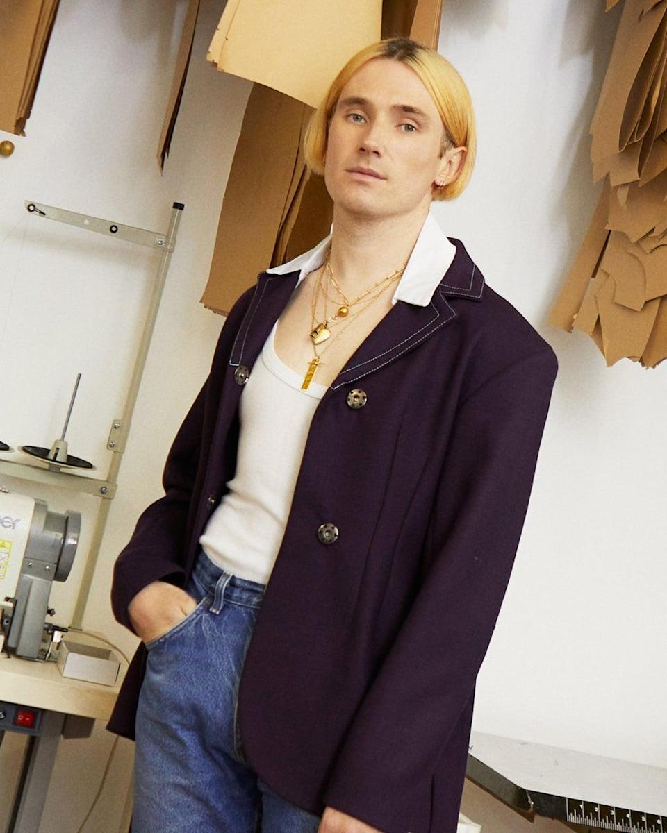 Designer Richard Malone has collaborated with Mulberry (Richard Malone)