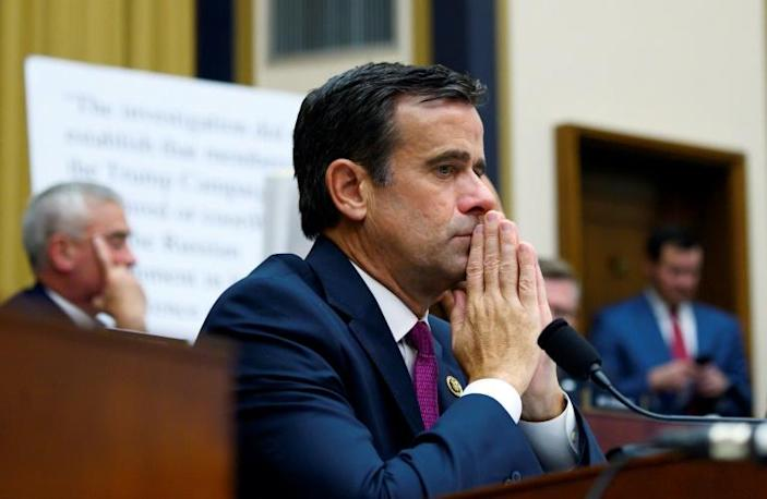 Texas congressman John Ratcliffe has pulled out of consideration to become the next Director of National Intelligence (AFP Photo/ANDREW CABALLERO-REYNOLDS)