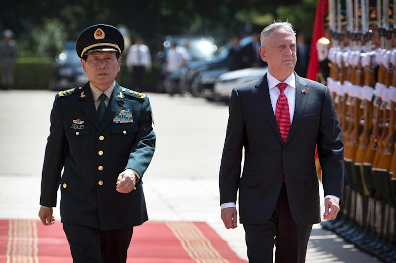 Mattis seeks to defuse tensions during visit to China, but gaps remain