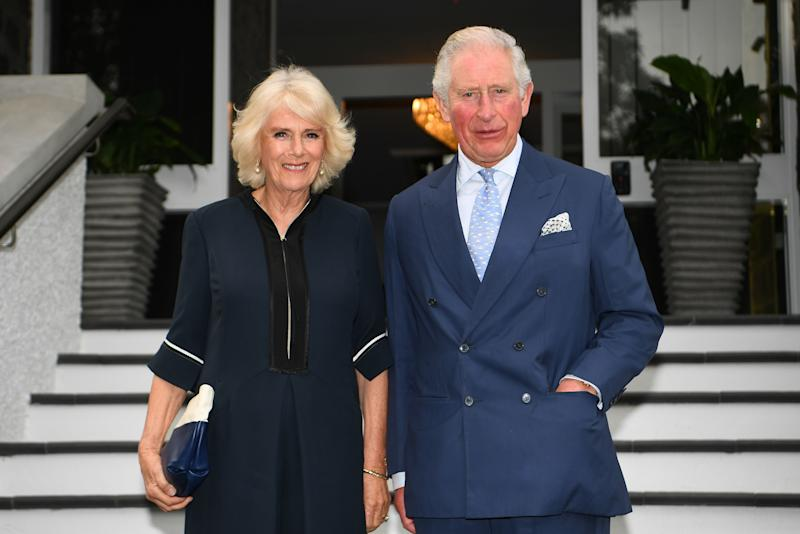 Camilla and Prince Charles in New Zealand