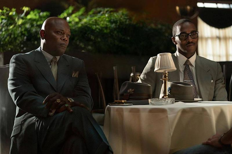 Samuel L. Jackson is suited for drama in first photo from Apple's The Banker