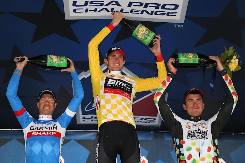 Cycling - Van Garderen stretches USA Pro Challenge lead
